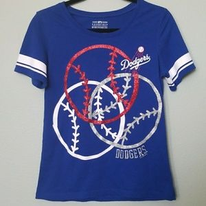 Justice girls Dodgers top size 20
